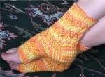 zigzag lace pedi socks