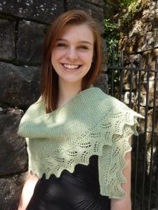 fern shawlette