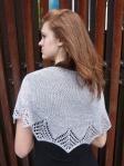 Filigree shawl