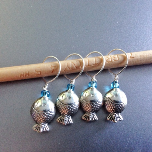 fish stitch markers