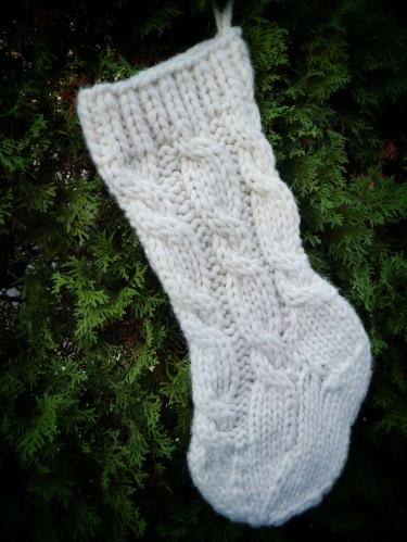 pdxknitterati christmas stocking