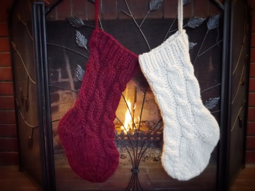pdxknitterati christmas stockings