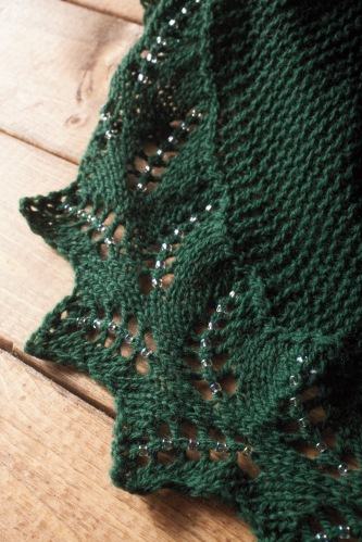 pdxknitterati fern shawlette edge detail