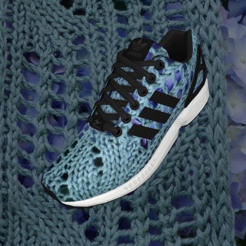 pdxknitterati ZX FLUX knit shoes