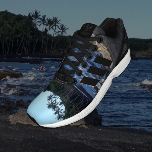 zx flux beach shoes