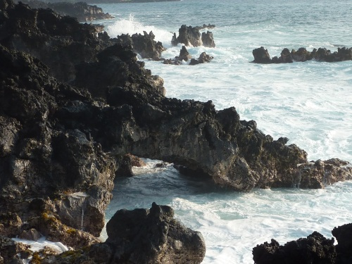 sea arch kanaloa at kona hawaii