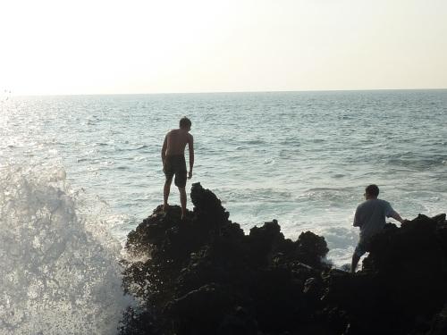 hawaii big island waves