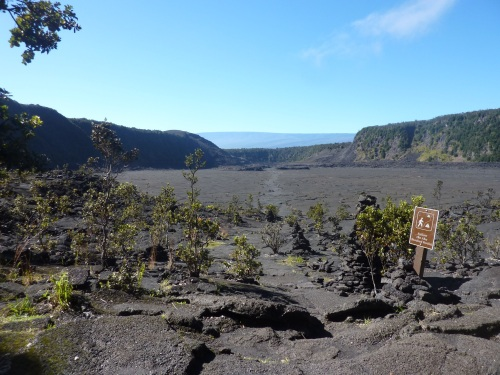 Kilauea Iki crater Hawaii