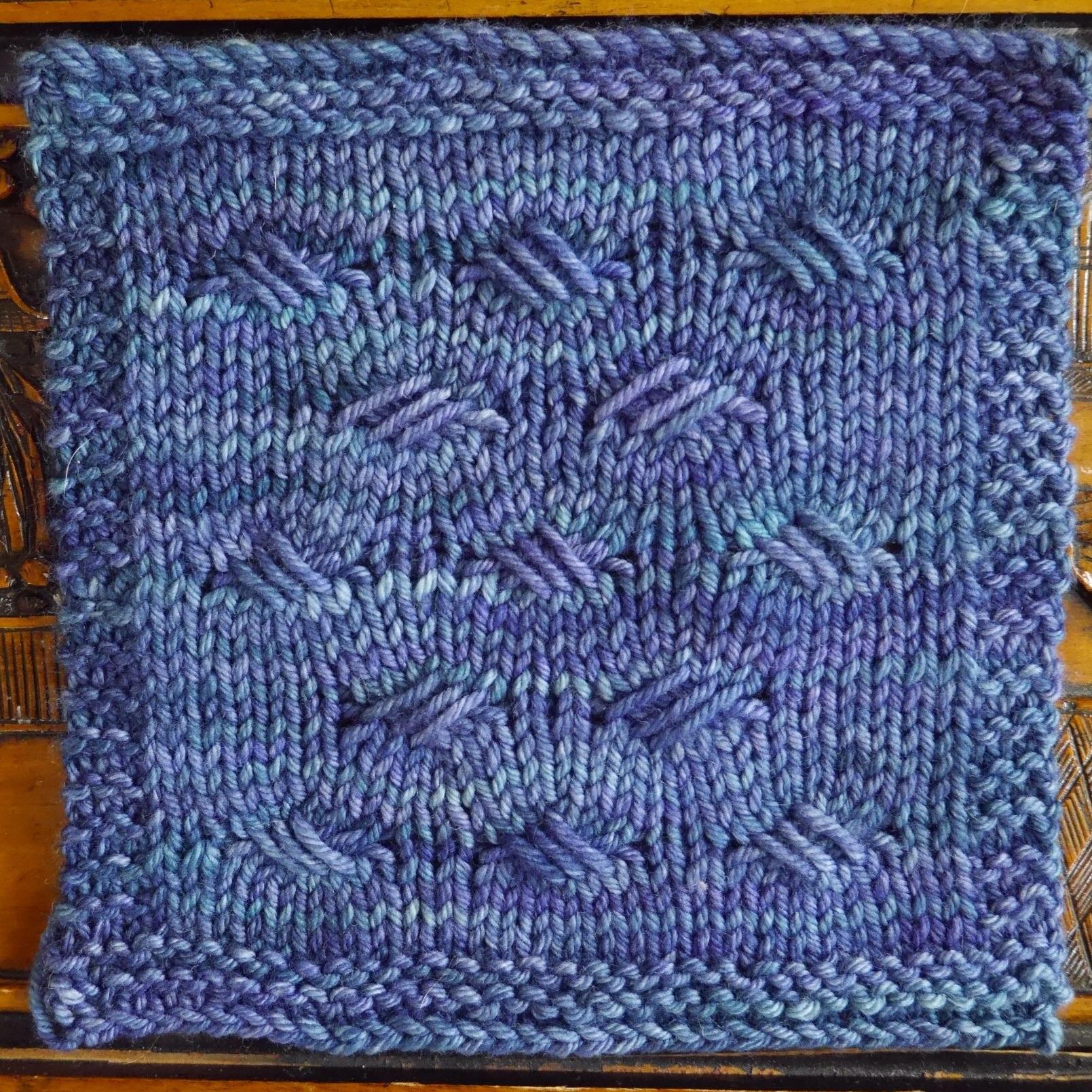 Criss Cross Stitch Pattern Pdxknitterati