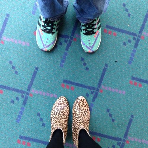 #pdxcarpet selfie