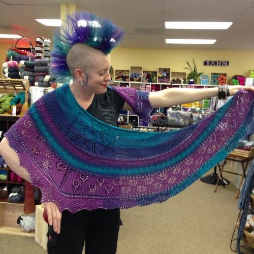 Sunday's shawl