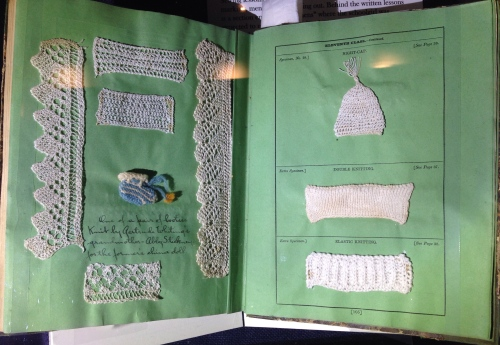 needlework sampler book