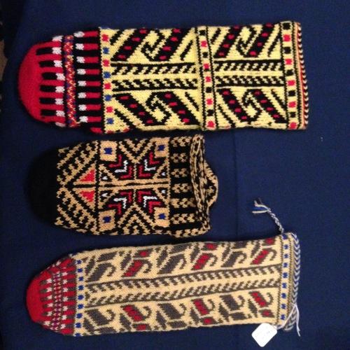 Balkan socks Donna Druchunas
