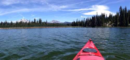 Hosmer Lake panorama