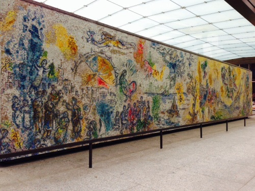 chagall mural chicago