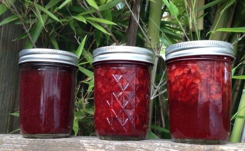 fruit floating jam