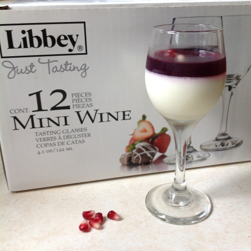 mini wine glass dessert