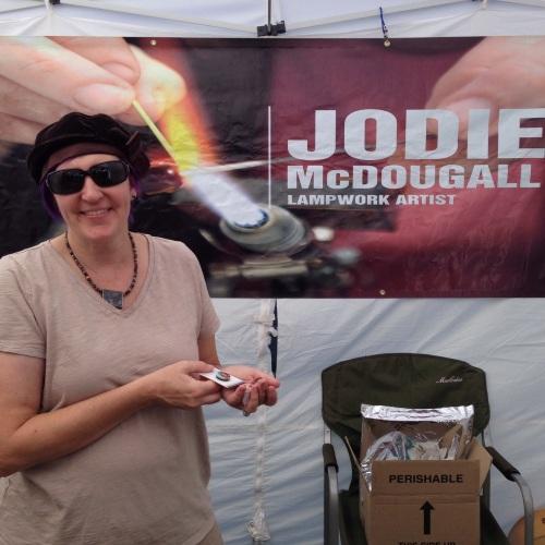 Jodie McDougall lampwork