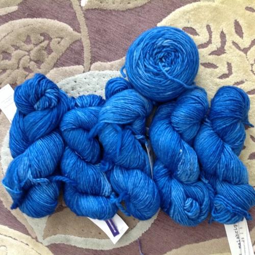 Malabrigo Merino Worsted Contintental Blue