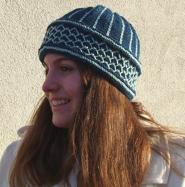ca17b0f7d67feb The Heladas (frost) Hat is designed by Beverly S, yarnintercept on Ravelry.  I've followed Beverly's blog for many years; back in 2011 she even  interviewed ...