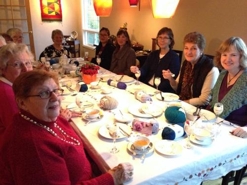 pdxknitterati knitters tea