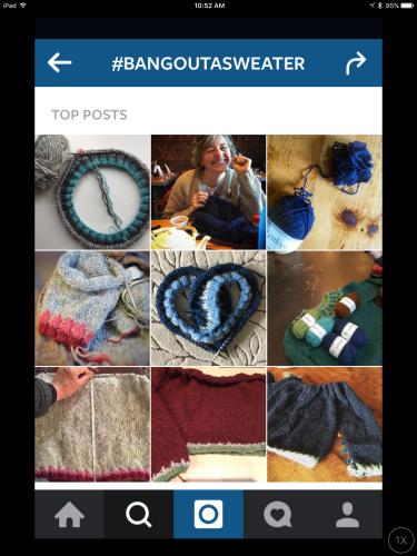 #bangoutasweater instagram