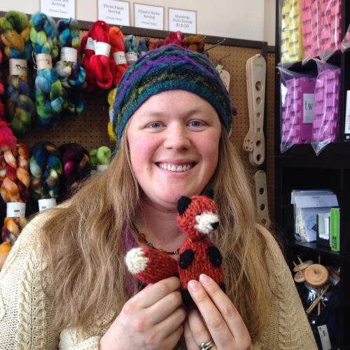 knit fox