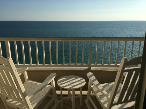 Lido Beach Resort balcony