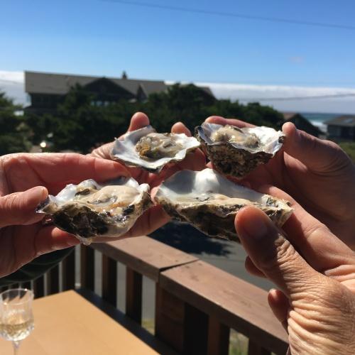 oyster toast