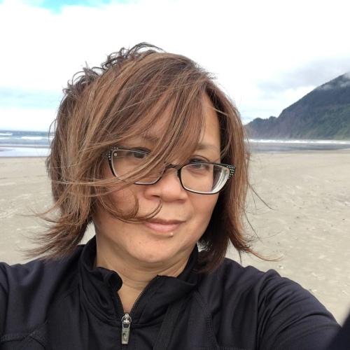 breezy selfie