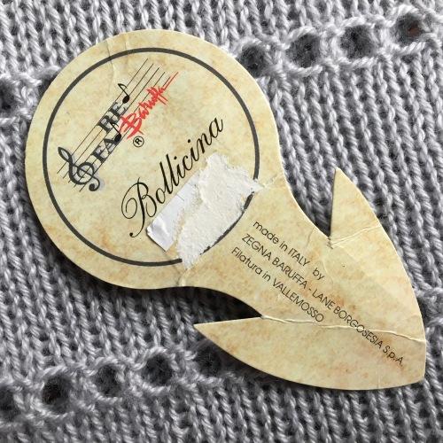Bollicina label Fa Re