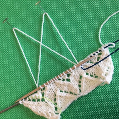 Halfway there! Lace Doctor