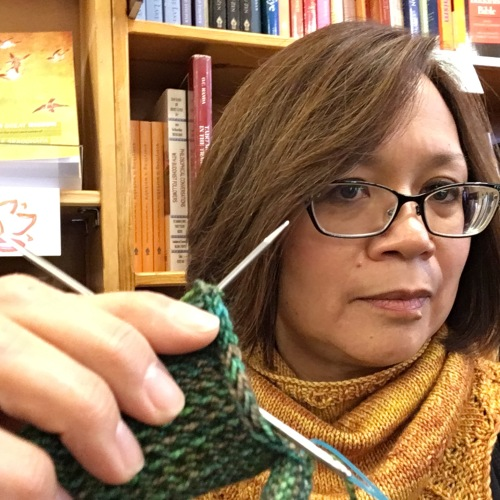 Knitting in line
