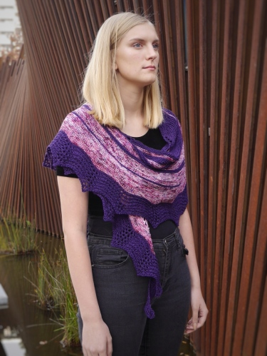 Ships in the Night Shawl