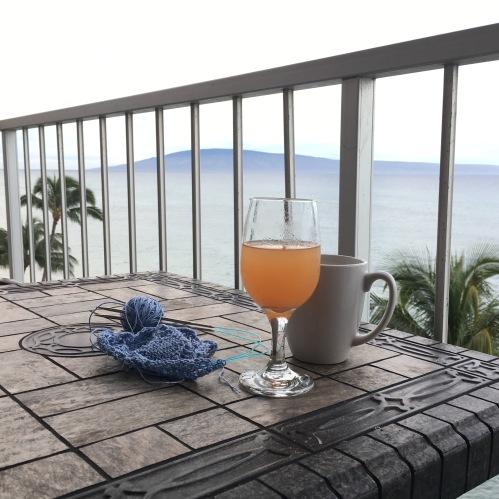 Pog mimosa coffee knitting