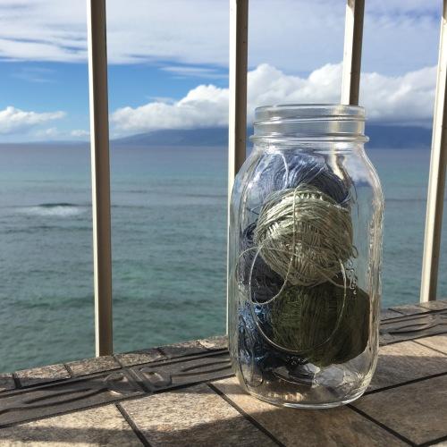 Euroflax minis in mason jar