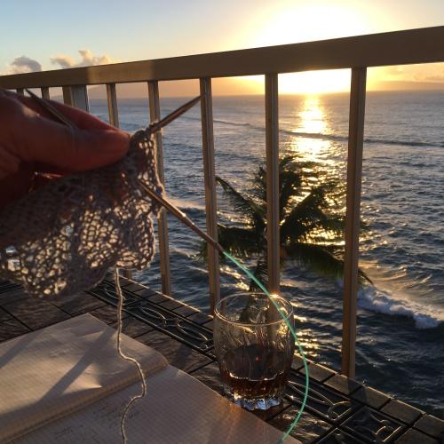 Aloha knitting