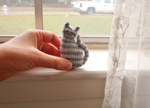 Tiny Window Cat by Sara Elizabeth Kellner