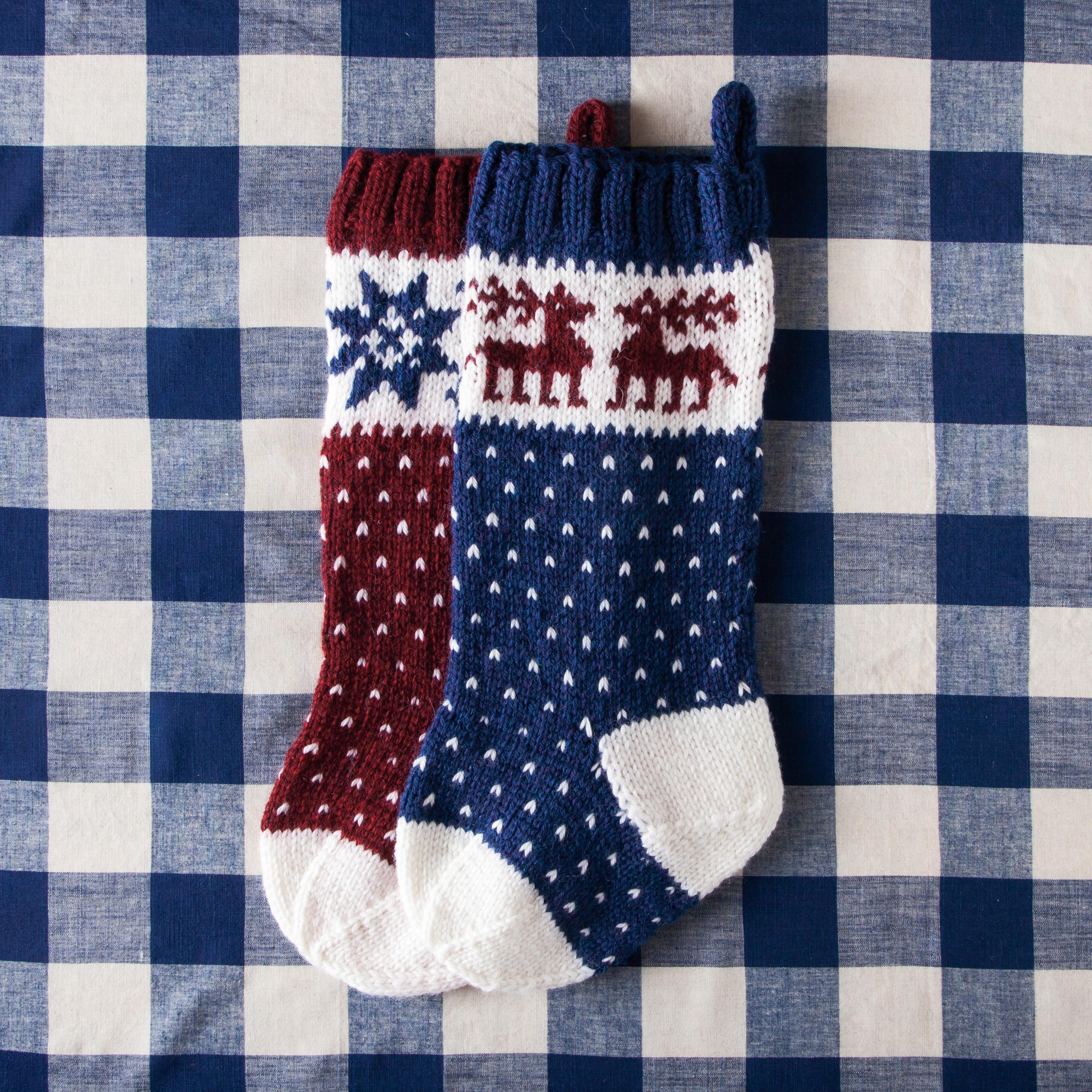 Christmas stockings | PDXKnitterati