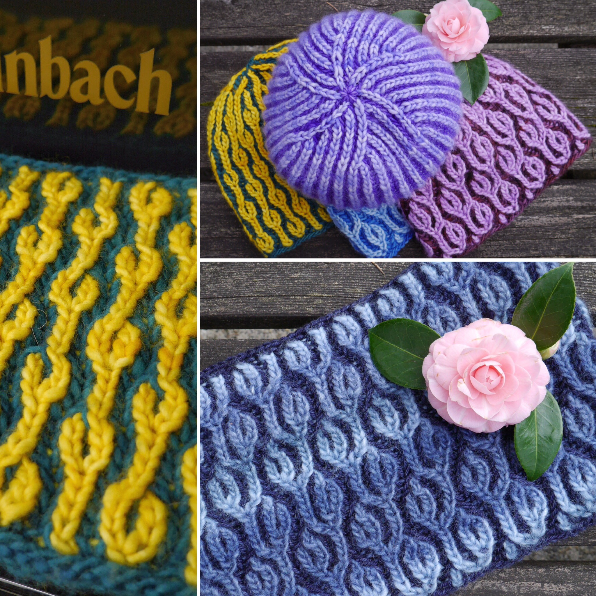9b4404e8d82 I ve also written patterns for cowls based on Heliotrope and Golden Chain.  The Brioche Hat ...