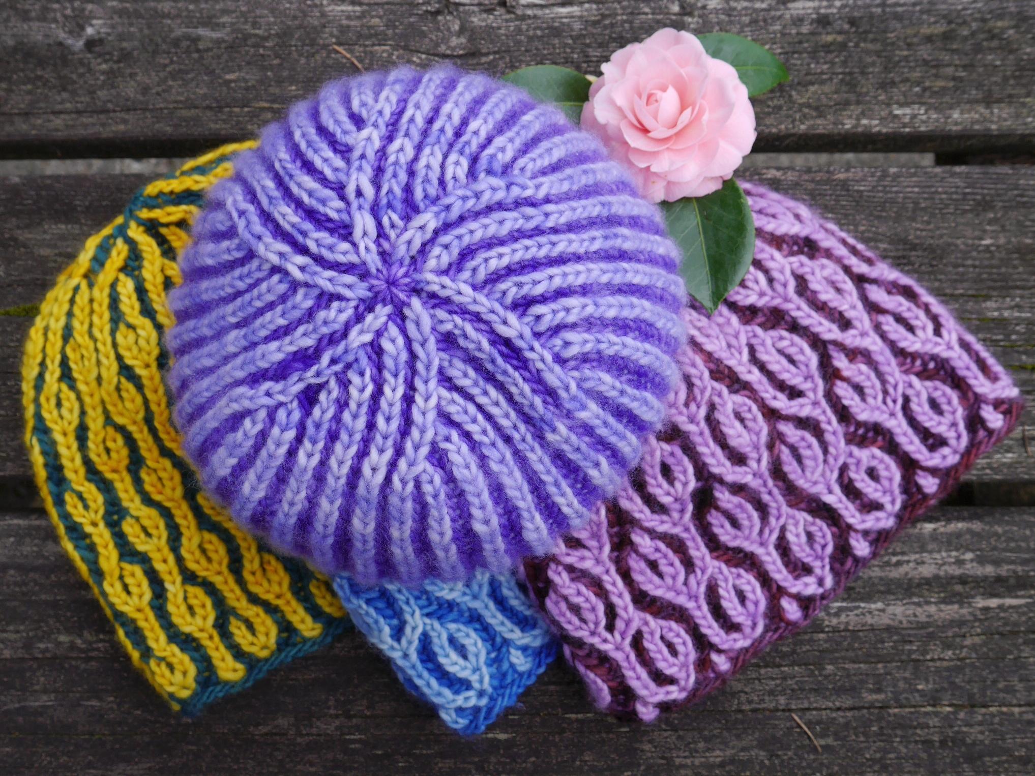 Garland shawl pdxknitterati brioche hat trick fandeluxe Images
