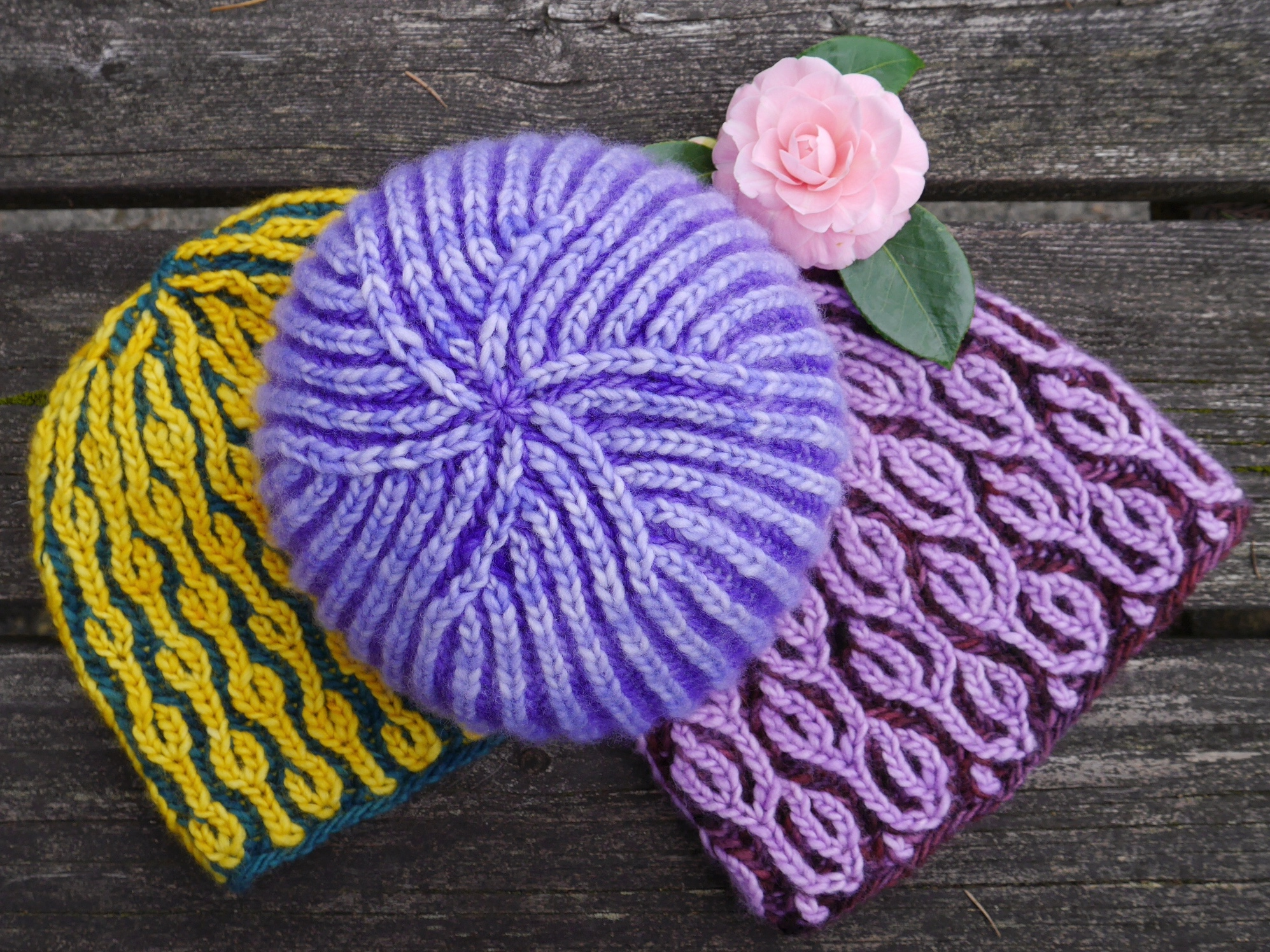 New patterns: Brioche Hat Trick! | PDXKnitterati