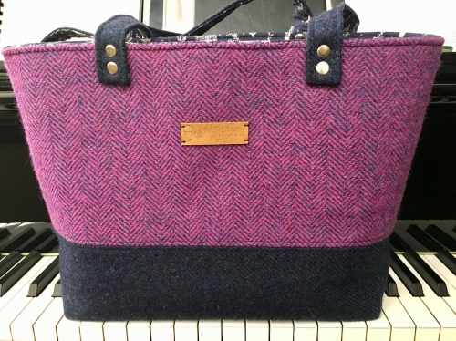 Harris Tweed bag by Thistle Fairy Designs