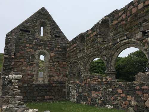 Nunnery ruins on Iona