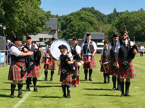 Mull & Iona Pipe Band