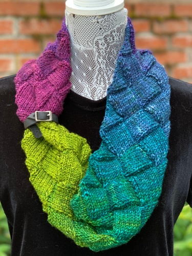 Minerva Cowl with Shawl Belt